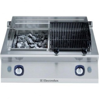 electrolux lavasteen grill - 2 zones - topmodel - e7grghlc00