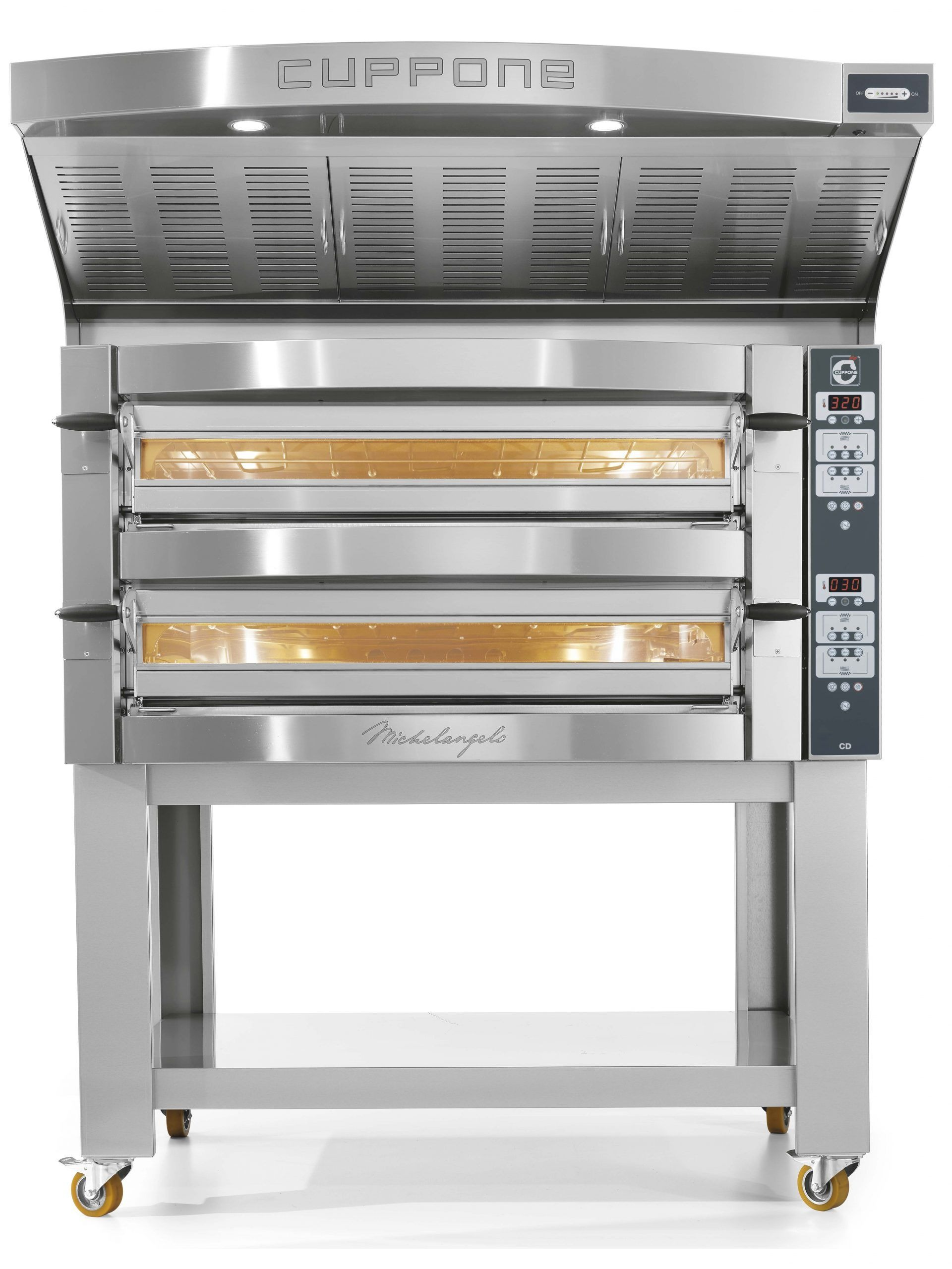 Cuppone pizzaoven Michelangelo ML635L/2CD