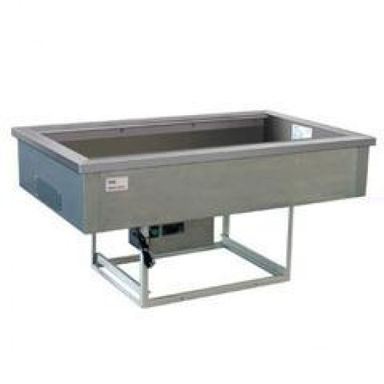 Cs gn drop-in bain marie 2/1gn,