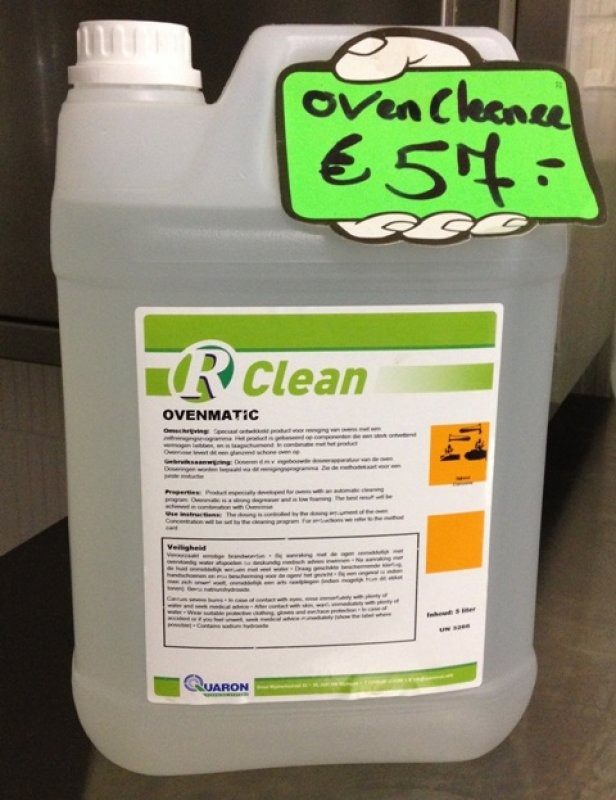 Oven cleaner r matic