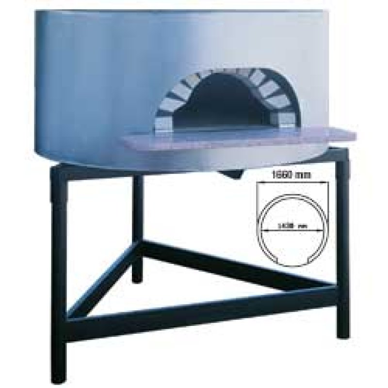 Napoli traditionele pizza oven op hout diameter 1450 mm