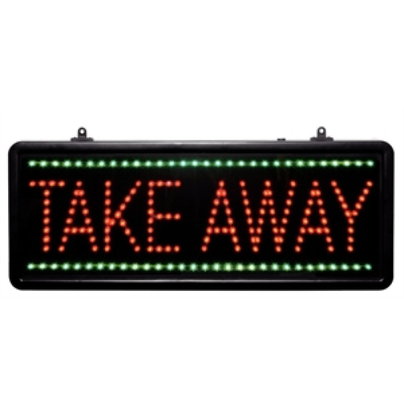 Bolero led display take away