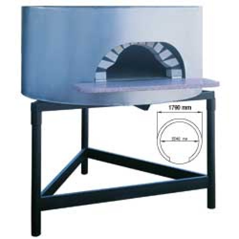 Napoli traditionele pizza oven op hout diameter 1540 mm