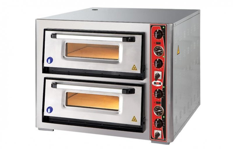 Pizzaoven gmg 2x6(30cm), 2 kamers
