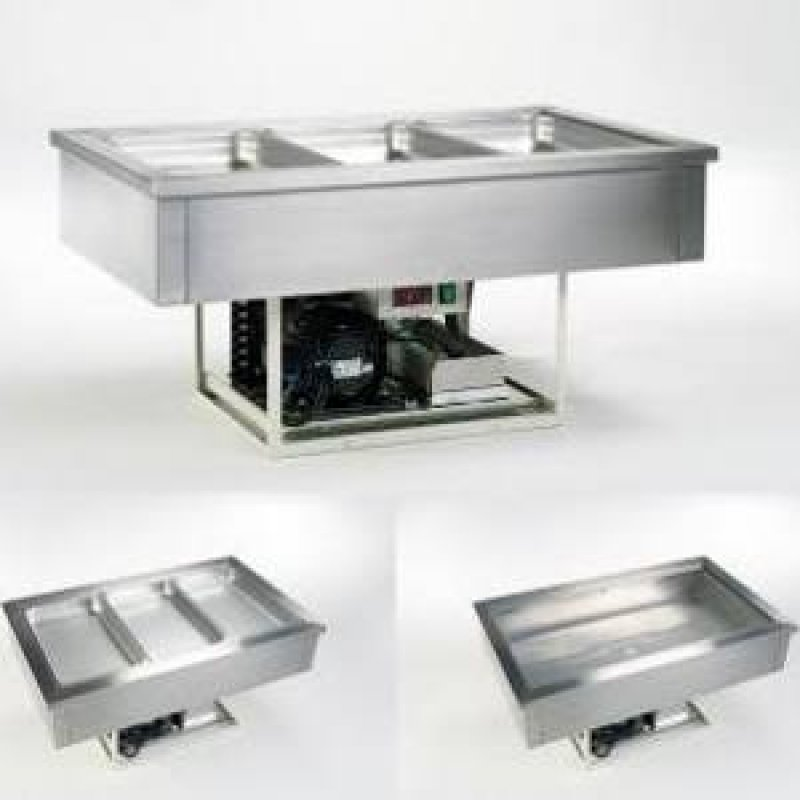 Drop in unit cooling well inb 755x655mm