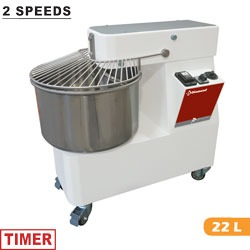 Diamond deegkneedmachine 22 Liter 2 snelheden NT22/TV2