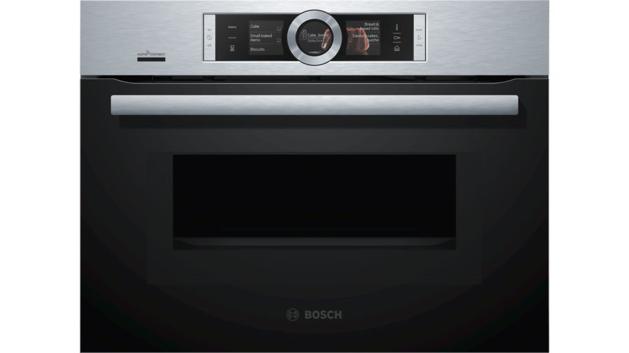 Bosch Serie | 8 Compacte oven met magnetron en added steam inox