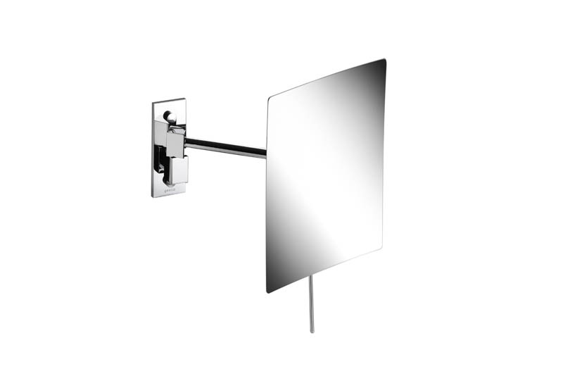 Geesa Mirror Cosmetic collection Scheerspiegel, 1 arm, 3x vergrotend, 150x225 mm