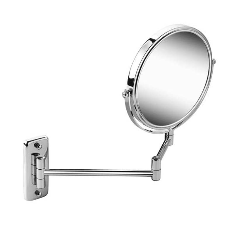 Geesa Mirror Cosmetic collection Scheerspiegel, 2 armig, normaal en 3x vergrotend, 200 mm