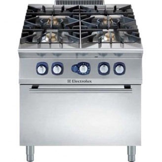 Electrolux gasfornuis - gas oven - 4-pits - e7gcgh4cgl