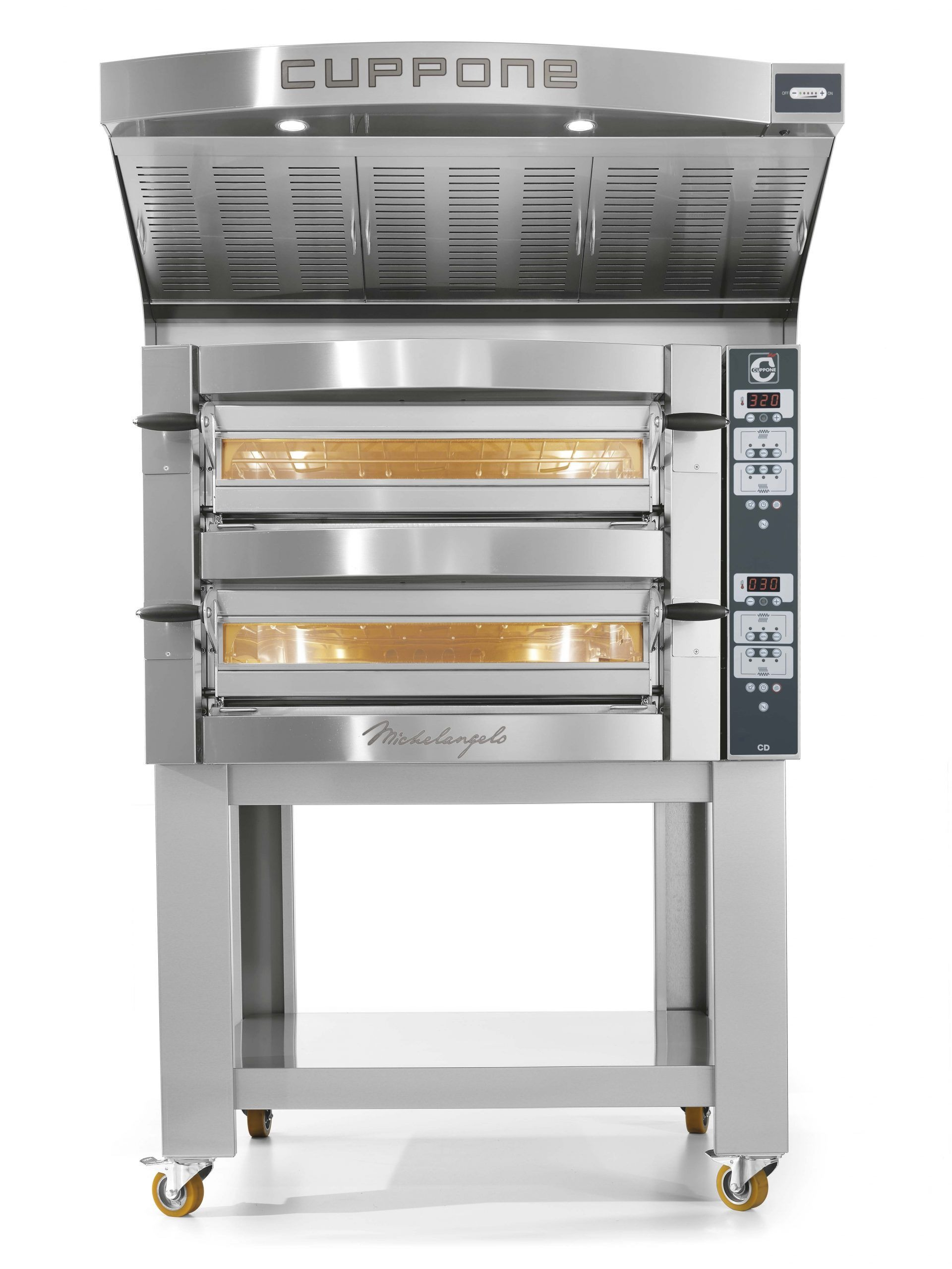 Cuppone pizzaoven Michelangelo ML635/2CD