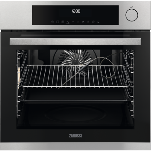 Zanussi SteamBoost, multifunctioneel, TouchControl, rvs