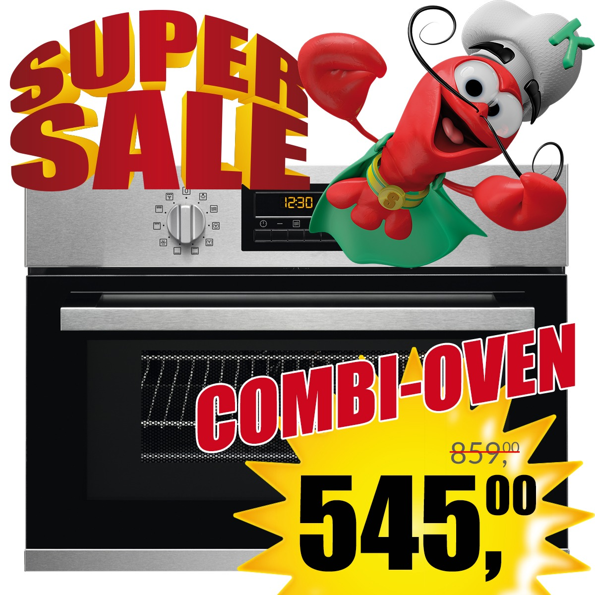 Combi - oven - magnetron