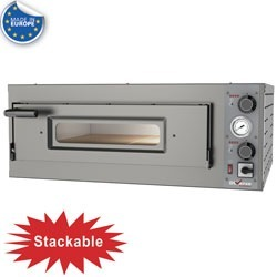 Diamond Elektrische oven 4 pizza's diam. 330mm, 1 kamer - WR-FS04-MT