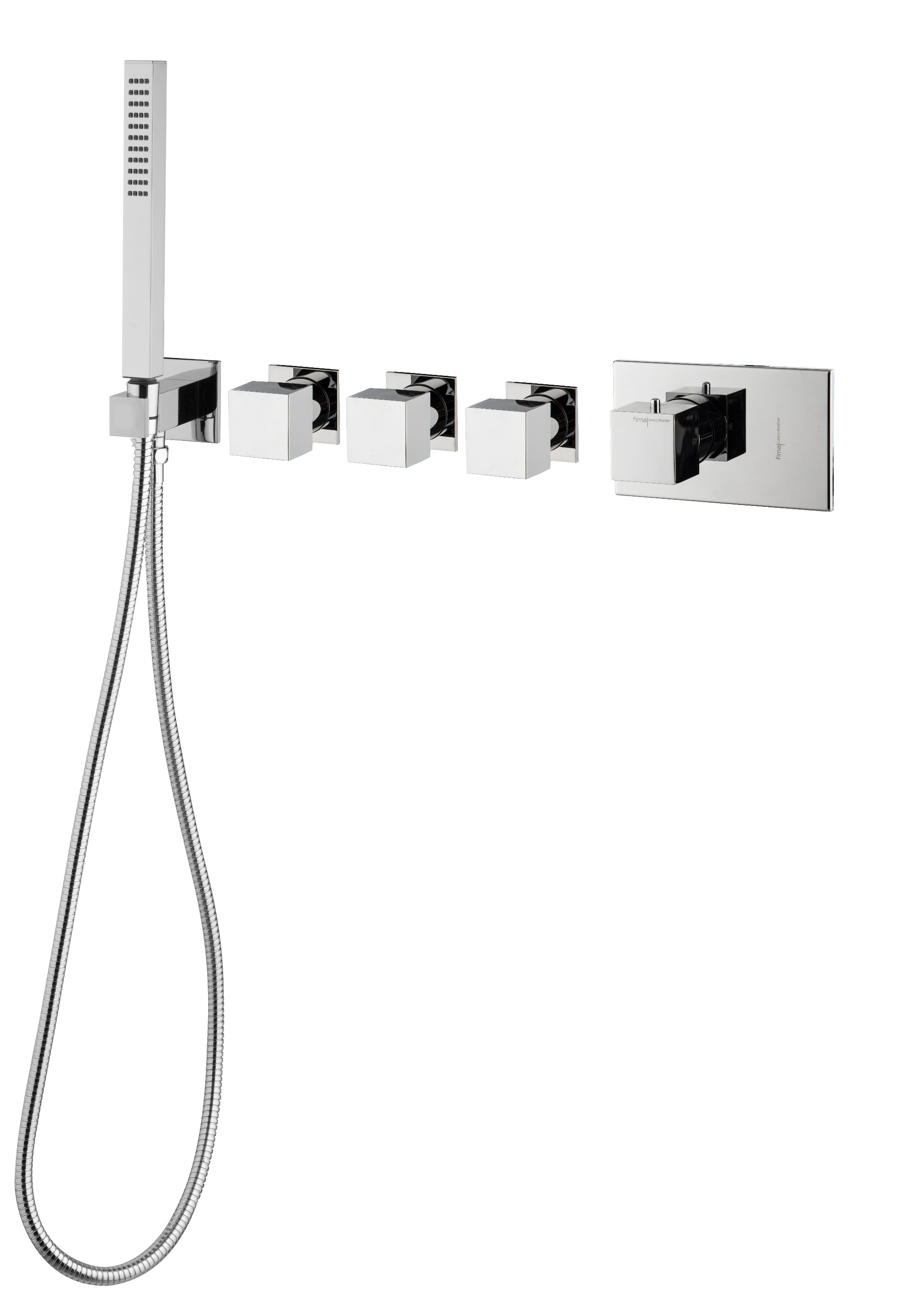 Fima serie Fimatherm douche/ bad thermostaatkraan chroom