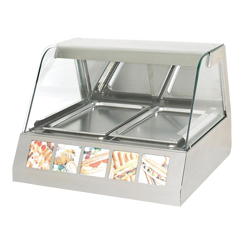 Rollergrill warmhoudvitrine 304081