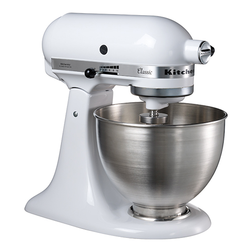 Heavy duty mixer 6,9l. wit