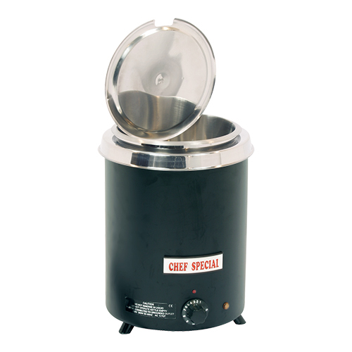 Foodwarmer caterchef zwart
