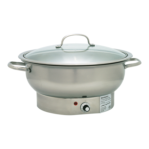 Chafing dish rond electr.3,8l