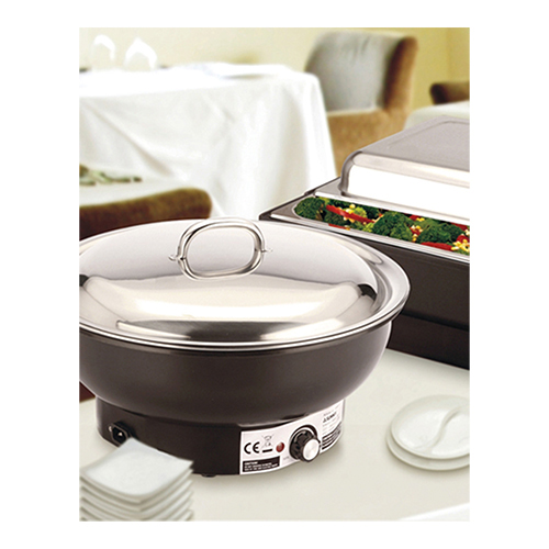 Chafing dish rond electr. 6,8l