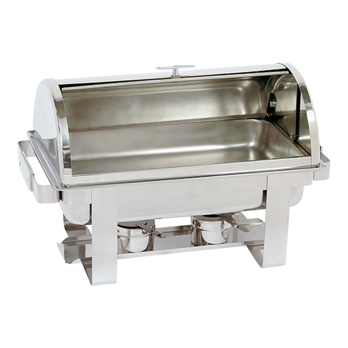 Chafing dish caterch roll top