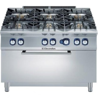 Electrolux gasfornuis - gas oven - 6-pits - e9gcgl6cl0