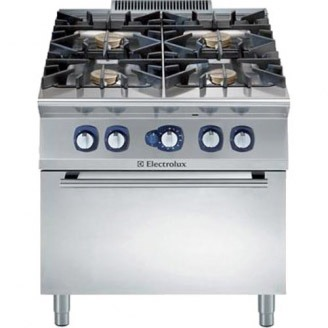Electrolux gasfornuis - gas oven - 4-pits - e9gcgh4cgm