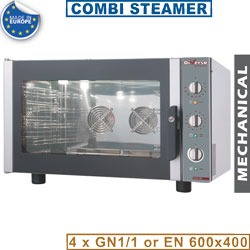 Diamond Elektrische oven stoom-convectie, 4x GN 1/1 of 600x400 mm - WR-FCV4-M